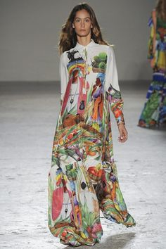 Stella Jean womenswear, spring/summer 2015, Milan Fashion Week