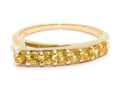 14kt-Yellow-Gold-Round-Cut-56ct-Yellow-Sapphire-Cocktail-Band-Ring-3-7gr