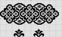Blackwork Embroidery, Cross Stitch Embroidery, Cross Stitch Designs, Cross Stitch Patterns, Bead Loom Designs, Cross Stitch Boards, Geek Crafts, Knitting Charts, Loom Beading