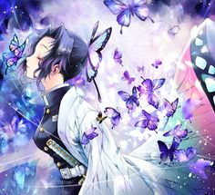 Demon Slayer: Kimetsu No Yaiba Anime Angel, Anime Demon, Otaku Anime, Fan Art Anime, Anime Art Girl, Demon Slayer, Slayer Anime, Art Anime Fille, Manga Dragon