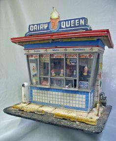 Miniatures, Dairy Queen Diaroma. Tim Prythero