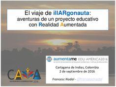 El viaje de illARgonauta: aventuras de un proyecto educativo con Real…