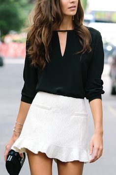 Street Style | Black and White