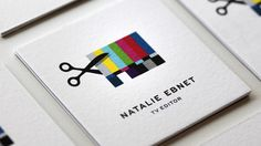 Logo for Natalie Ebnet, TV Editor.