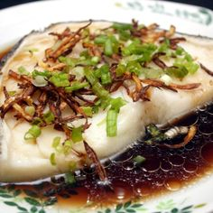 An easy Alaskan Black Cod recipe with Hoisin and Ginger Sauces Baked Cod Recipes, Fish Recipes, Seafood Recipes, Asian Recipes, Cooking Recipes, Recipe For Black Cod, Baked Black Cod Recipe, Seafood Dishes, Fish And Seafood