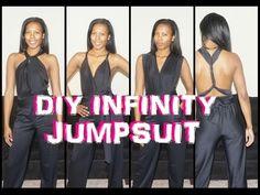 #3 - DIY Infinity Jumpsuit Tutorial - Derri's Dairy - YouTube