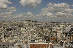 Sacré-Coeur from the Tuileries, Paris