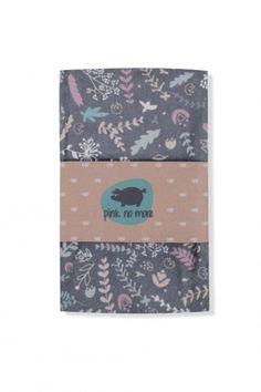 Pink No More - Bambusowa chusta/otulacz - Botanic Grey