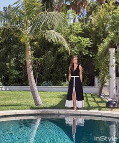 Inside Lea Michele's Tranquil West LA Home Lea Michele Glee, Deck Colors, Home Design Magazines, Rachel Berry, Instyle Magazine, Hollywood, Los Angeles Homes, Celebrity Houses, Step Inside