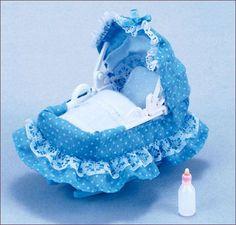 Jp Sylvanian Families Ka-204 Baby Cradle
