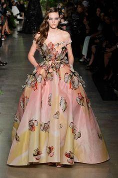 Elie Saab Haute Couture S/S 2015 Paris | GRAVERAVENS