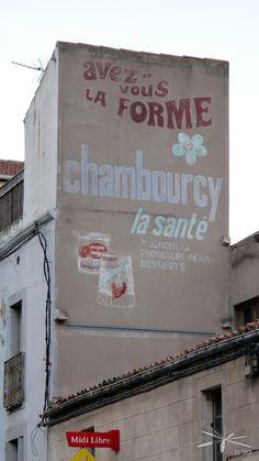 réclame Chambourcy Sète - Hérault