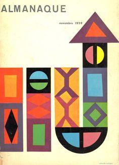 """""""alamaque"""" magazine - sebastião rodrigues 1959"""