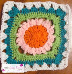 Knot Your Nana's Crochet: Granny Square CAL (Week 11)