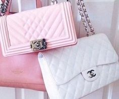 #prim #cute #handbags #cltuch #pink #white