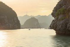 Seascape of Halong Bay, Vietnam by sweet spot on Creative Market