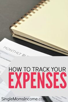 Tracking your expenses is a crucial part of creating a realistic, working budget. Here's how to get started plus a free expense tracker worksheet to help! http://singlemomsincome.com/tracking-expenses-get-started-plus-free-printable/