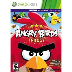 Angry Birds (Activision) is now available on the Xbox Sony Playstation, and Nintendo I saw the Xbox Kinect . Nintendo 3ds, Nintendo Switch, Xbox 360 Games, Xbox Games, Wii U, Angry Birds Seasons, Activision Blizzard, 3d Mode, Latest Video Games