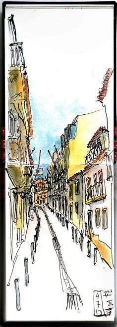 draughtsman's contract: Rua da Fé, Lisboa