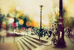 Bike with lamp