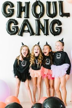 Looking to have a halloween party for your ghoul gang? Our Best Witches crewnecks are the perfect addition to colorful tutus and they glow in the dark! Fun Halloween Games, Pink Halloween, Halloween Party Costumes, Halloween Decorations, 31 Party, Lavender Color, Shades Of Black, Girls Be Like, Girl Tattoos