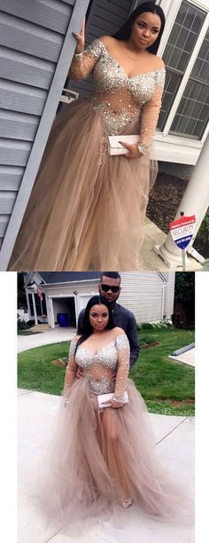 2017 champagne long prom party dresses,vestidos.