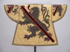 Namur -- Wappenrock für den Wappenkönig-Herold der Grafschaft Namur, 1715 -- Künstler: Louis Aimé (Sticker)