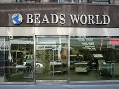Beads world!  5th and 6th Avenues around 33rd Street
