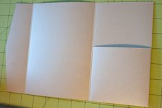 Incredible tutorial to make your own Envelopes, complete with pocket!! DIY wedding invitations