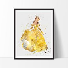 Belle from Beauty & the Beast Painting