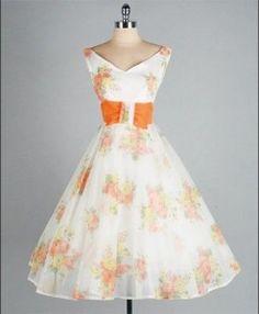 Chiffon dress for the date night