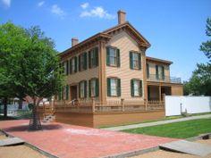 Lincoln's Home, Springfield, IL illinoi, place