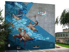 New wall by SEPE / CHAZME  city: Gorzów Wielkopolski (Poland)
