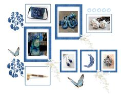 """""""Blue Gifts"""" by keepsakedesignbycmm ❤ liked on Polyvore featuring Lazuli, jewelry, art and accessories"""