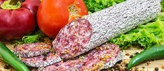 Salam de Sibiu   Local Sausage/Salami From Sibiu County, Romania   TasteAtlas Romanian Food, Romanian Recipes, Smoked Pork, Popular Recipes, Sausage, Bacon, Spices, Stuffed Peppers, Traditional