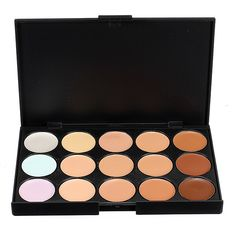 Professional Makeup Camouflage Facial Concealer Cream Palette