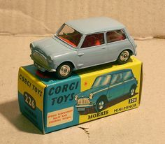 Corgi 226 Morris Mini Minor 1