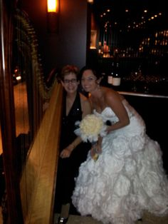 """""""Truly the best in the business"""" Esther brings her experience as """"Master of the Harp"""", performing for over 1500 wedding ceremonies and over 1000 corporate events personally to your wedding. #southfloridawedding @marriottsingerisland @theelegantharp #palmbeachwedding #marriottwedding #musician #harpist"""