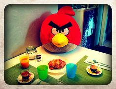 Angry #breakfast.