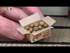 DIY Fake food - Miniature Potato ミニチュアじゃがいも作り - YouTube