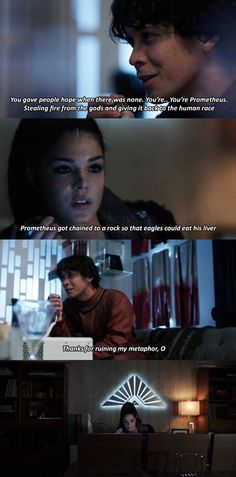 Bellamy Blake and Octavia Blake || The 100 season 4 episode 13 - Praimfaya || Blake Siblings || Bob Morley and Marie Avgeropoulos