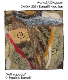 Art quilt by Pauline Barrett