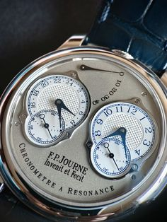 Journe - Another close up shoots of CR Men's Watches, Cool Watches, Watches For Men, Amazing Pics, Jets, Pocket Watch, Close Up, Concept, Iphone