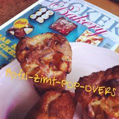 Das erste Rezept ist schon daraus gebacken Apfel -Pop-Overs #leckerbakery # lecker# l