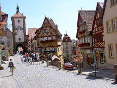 Lami Deutsch German: Rothenburg ob der Tauber, Bayern, DE