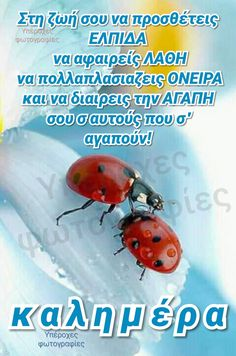 Greek Quotes, Good Morning, Life Is Good, Sayings, Pictures, Buen Dia, Photos, Bonjour, Lyrics