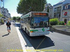 PERIBUS: Heuliez GX 117,  Boulevard Michel Montagne, Périgueux, Périgord, France. 31st July 2012., via Flickr.