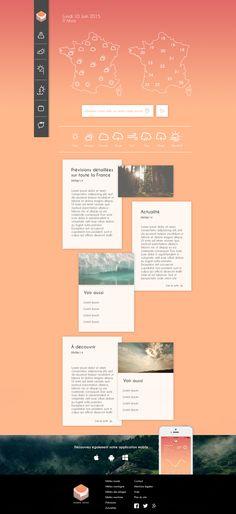 W E A T H E R project // Website
