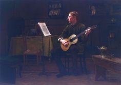 Dennis Miller Bunker, Bohemian,1885 Oil On Canvas 25 3/4 x 36 in. (65.4 x 91.4 cm)