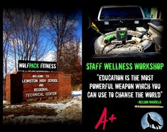 "WolfPack hit the road today with ""Primal in a Pickup"" for a local high school's ""Staff Wellness Workshop"" day!  Luke - WolfPack's owner and certified nutrition specialist- gave an hour long seminar to a wonderfully attentive group of staff members. We discussed a variety of enlightening topics including:  *How important mindset, stress reduction, and sleep are to a healthy lifestyle  *How nutrition goes beyond just being ""skinny"" or ""fat"" but can have an acute impact on hormones that affect…"